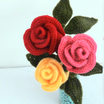 Crochet Easy Rose Flower For Beginners