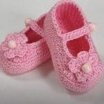 Crochet Baby Girl Shoes For Beginners