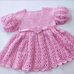 Crochet Princess Baby Dress