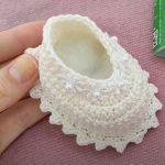 Crochet Beautiful Baby Shoes