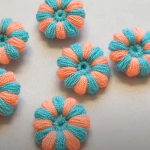 Crochet Tiny Flower Applique In 8 Minutes