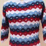 Crochet Easy Sweater For Spring