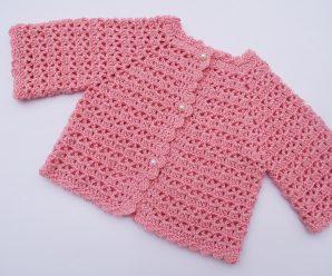 Crochet Easy Jacket For Baby