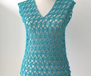 Crochet Vest In All Sizes
