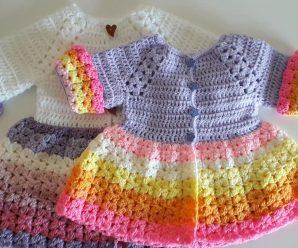 Crochet Spring/Summer Cardigan For Girls
