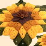 Crochet A Big Sunflower