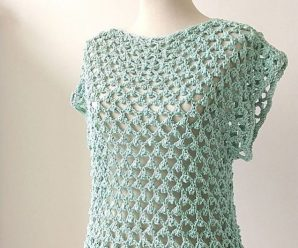 Crochet A Lovely Blouse Easily