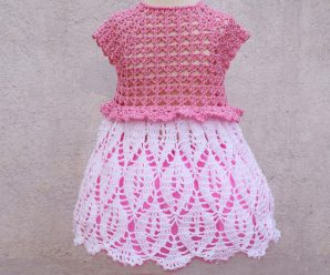 Crochet Baby Dress Video Tutorial