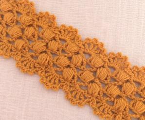 Crochet Beautiful Border For Headband