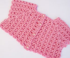 Crochet Lovely Bolero For Baby
