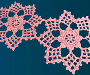 Crochet A Flower Doily Video Tutorial