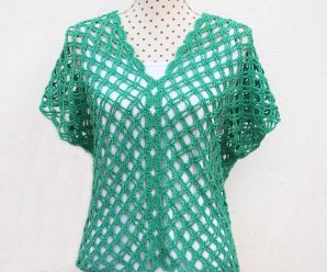 Crochet Beautiful Blouse In All Sizes