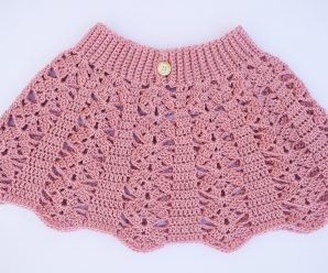 Crochet Fast And Simple Baby Skirt