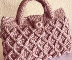 Crochet 3 D Handbag Video Lesson