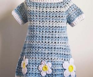 Crochet Summer Dress For Girls