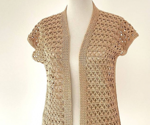 Crochet Easy And Beutiful Vest