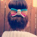 Super Cute Hair Bow Clip