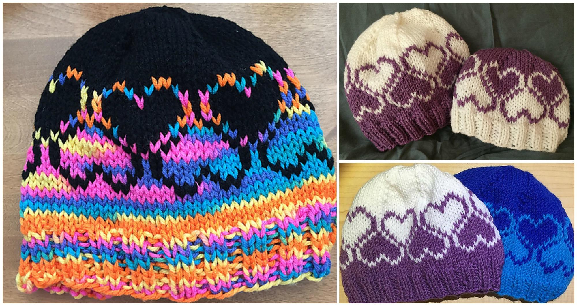 Knit Love Winter Hat