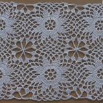 Crochet Motif For Tablecloth
