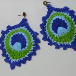 Peacock Motif Earrings Tutorial