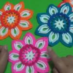 How To Crochet Pretty Flower