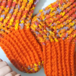 How To Crochet Colorful Socks (From 32 To 40 Sizes)