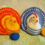 Crochet Easter Chicken