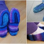 Knit U-turn Slippers