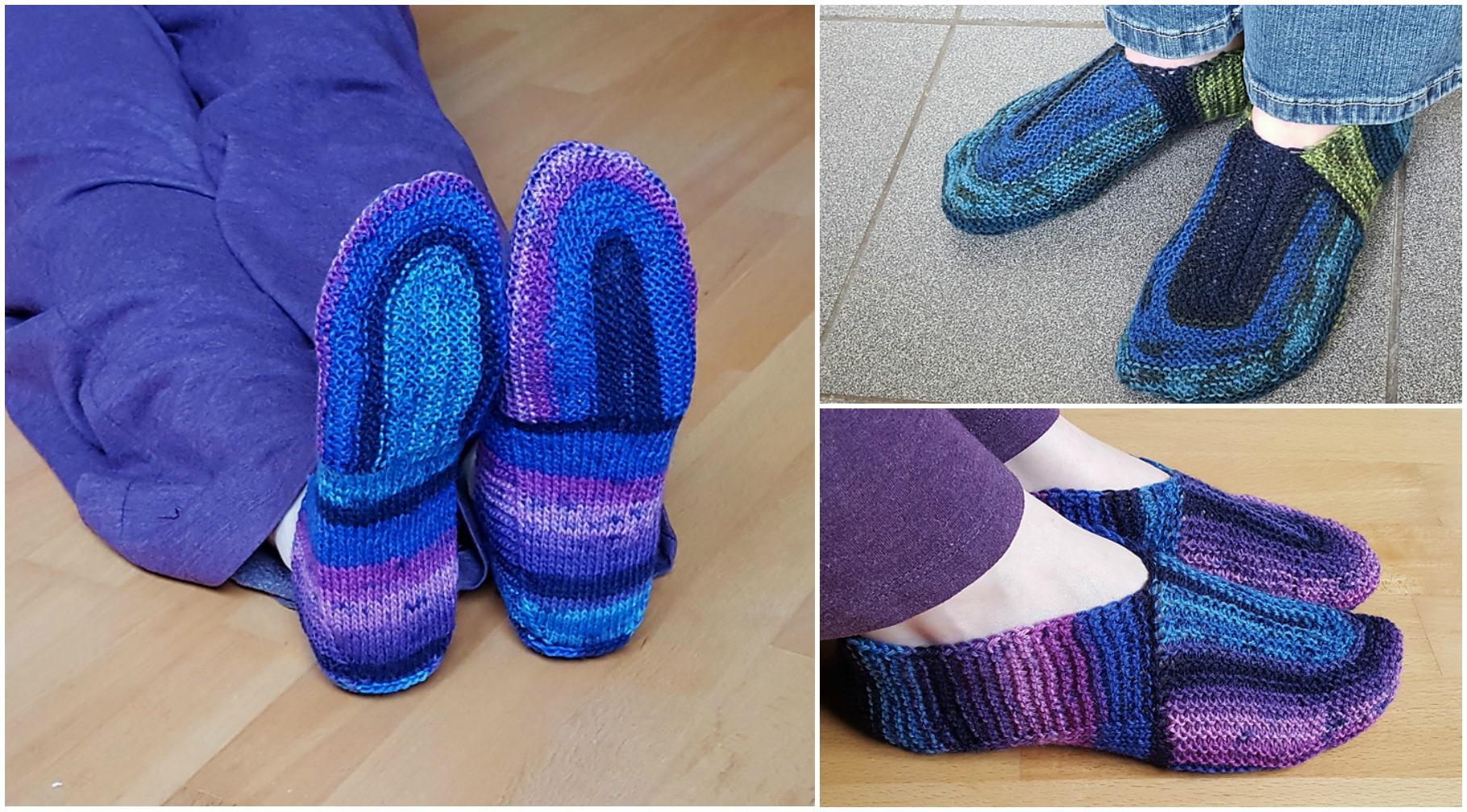 Knit U-turn Slippers