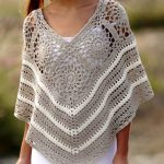 Lovely Poncho Tutorial (S,M,L)