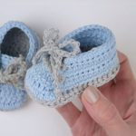 Cute And Easy Baby Booties