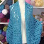 Knit Lovely Poncho (S, M L)