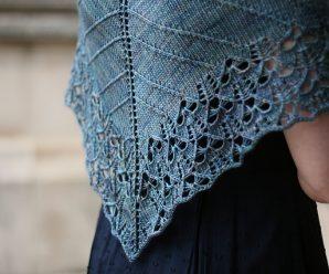 How To Knit Cicada Shawl