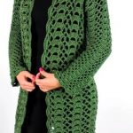 Crochet Stylish Coat Video Tutorial