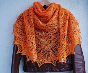 Echo Flower Shawl (Knitting)