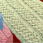 Crochet 3 D Lovely Scarf