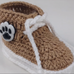 Crochet Lovely Baby Boots