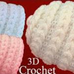 3D Crochet Hat