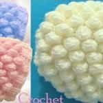 3D Crochet Hat With Balls