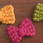 Crochet Lovely Bow