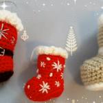 Christmas Decoration – Santa Socks