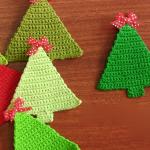 Crochet Tiny Christmas Tree