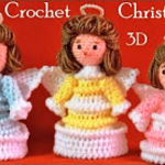 DIY Crochet Christmas Angels