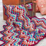 Crochet Throw-back Granny Chevron