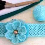 DIY Headband With Flower