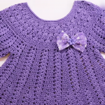 Crochet Dress For Baby Girl