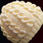 Crochet 3 D Stitch Beanie Hat