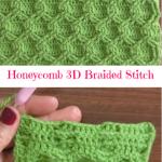 Honeycomb 3D Braided Stitch