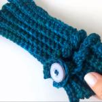 Crochet Finger-Less Gloves