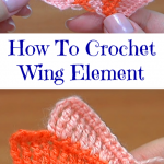 How To Crochet Wing Element